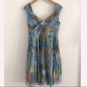 Adrianna Papell Sleeveless midi dress size 6p